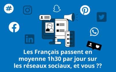 Les réseaux sociaux sur le devant de la scène !